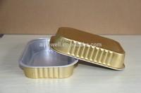 Disposable Aluminium foil lunch box cookware food aluminum foil packaging box