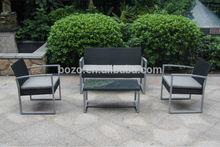 PE rattan sofa 4pcs sofa-KD BZ-SF100
