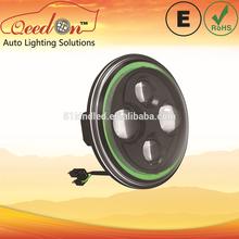 Qeedon 7inch LED Round E-mark DOT Head lights ultra bright led headlight for Harley Davidson
