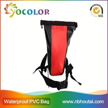 2015 Top Sale Colorful Waterproof Dry Bag With Double Shoulder Straps for outdoor sports