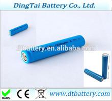 mp3,PDA, application battery ICR14650 3.7v 1100mah li-ion battery