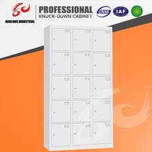 attractive design simple and practical steel locker/wardrobe cabinet