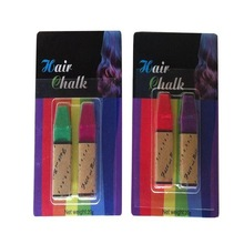 temporary hair dye chalk type and powder form hair chalk pen