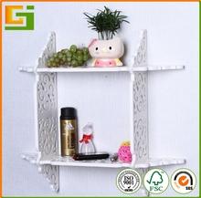 Living room wall mounted decorative folding diy wall shelf