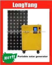 Portable mobile solar power generator kit 300W-1800W