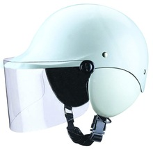 SG Certification White ABS Half Face Motorcycle Helmet FH-88