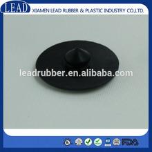 Black color rubber cap for square pipe