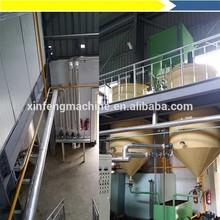 Crude degummed soybean oil machinery/soybean oil refine plant