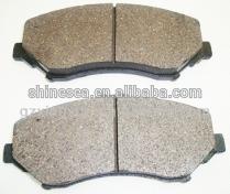 Front Axle CeRamic Disc Brake Pads / Brake Pad kit V1013152AB V1013152AA For Chrysler Town&Country/Dodge Grand Caravan /Journey