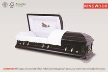 KENWOOD making casket made in China coffin pet casket