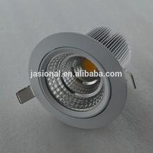 Hot! Australia Light 12W Sharp COB LED downlight,SAA LED Downlight with Citizen/sharp/bridgelux chip,dimmable LED Downlights