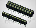 Conector ds1002-02 2.00mm sip ic socket( máquina de pinos)