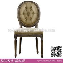 Antigo de madeira de alta volta cadeira de jantar, madeira cadeira de jantar design, capas para sala de jantar da cadeira