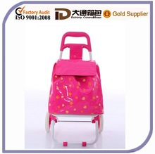 china supplier canvas shopping bags with wheels