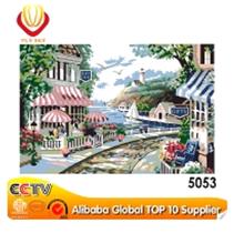 2015 handmade beautiful scenery oil painting on canvas 5053