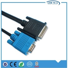 factory price VGA male to DVI cable wiring diagram vga cable db9 to vga cable