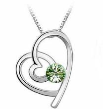 Crystal Heart Necklaces & Pendants