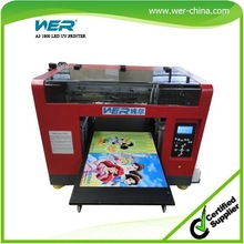 A3 multifunction printer, like printing on ball pen/phone case/usb card/lighters/cds etc, metal printers