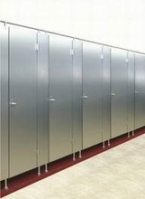 Stainless steel sanitary ware product,one piece toilet partition made in china
