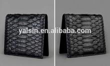 wnt9958 men natural exotic skin wallet real snake skin wallet