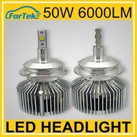 9007 super bright led lights car headlight 6000LM 50w phillip chips