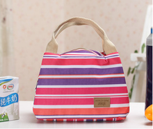 Fashion Eco-friendly outdoor canvas picnic bag/tote cooler bag