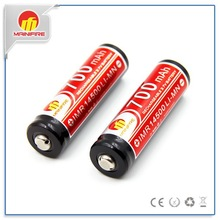 Mainifire 700mah 10a 14500 LI-MN AA Rechargeable battery 3.7V for remote control toy