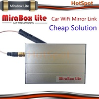 Cost-down solution! Car Mirabox Lite wireless mirror link AV out for 1 din 7 inch car dvd player