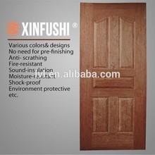 High Quality HDF Wood Veneer Door Skin Export to Jordan