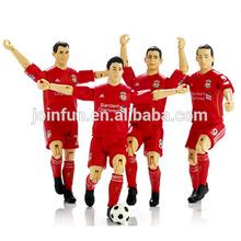 custom make plastic aciton figure football players,custom team plastic football player action figures,own design action figures