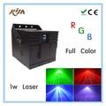Neues design berufs-1w rgb farbdruck bühne projektion laserlicht