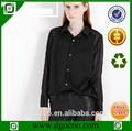 moda siyah şifon bluz modelleri seksi geri açık tasarım seksi bluz