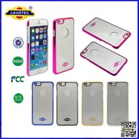 2014 New Arrival Electroplating Case for iPhone 6 Chrome Case Crystal Case for iPhone 6 Laudtec