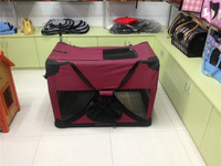 XL Dog Carrier strong stainless steel dog cage