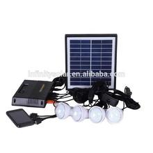 2015 New Portable Emergency The Solar system,Solar panel 5W solar power kit