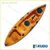 2015 KUDO Rotomolding Single Fishing Kayak with UV inhibitor