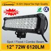 6120LM 9-32V Offroad Light Bar 12'' 72w sxs led light bars
