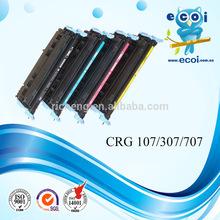 Compatible color toner cartridge 107 C/M/Y/BK ,spare part of printer
