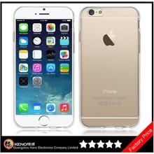 Keno Ultra Slim Thin Case Clear TPU Silicone Back Case Soft TPU Gel Cover for iPhone6 Plus 5.5 Inch