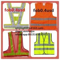 safety vest with led light , refelecting vest refelective vest ,reflection vest,police vest,work vest ,high visibility vest