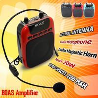 high power portable wireless teacher voice microphone special BOAS sound power amplifiers with external antenna