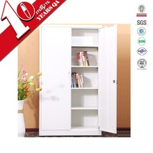 White powder coated steel file cabinet office furniture