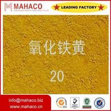 Asphalt color pigment Iron Oxide Yellow(311 86% 77492)