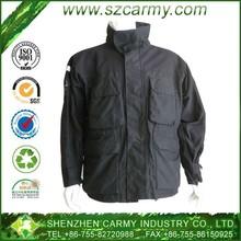 Stand Collar Zipper Front Fly Multi Pockets BDU Polyester Lining Alpine Mens M65 Air Field Winter Jacket