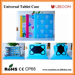 Newest products muti-viewing universal tablet case,velcro universal case, fashion design tablet universal case