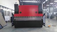 WC67K series NC sheet metal press brake for making door frame from ADH