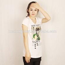 2015 new style fashion fancy OEM shirt factory high quality cheap shirt women