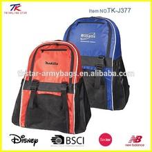 Athletic soccer sport ball bag backpack