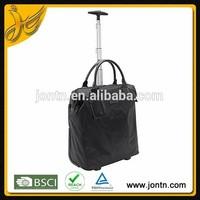 custom frame opening laptop trolley travel bags