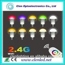5 W RGBW WIFI rgb llevó el bulbo gu10 que cambia de color